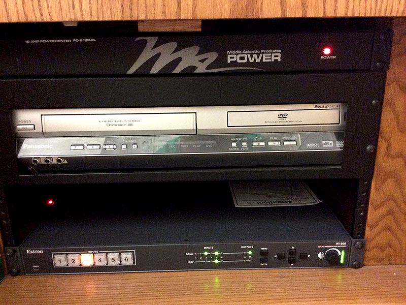 VCR/DVD Player